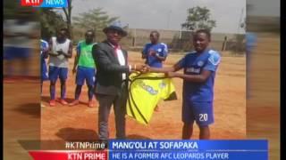 Bernard Mangoli goes back home to Sofapaka from AFC Leopards
