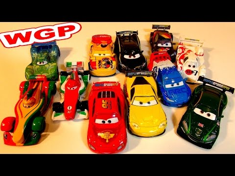 FULL COLLECTION DISNEY PIXAR CARS WORLD GRAND PRIX RACING CARS WITH A STORY