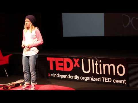 The blurred lines of art and skateboarding | Poppy Starr Olsen | TEDxUltimo