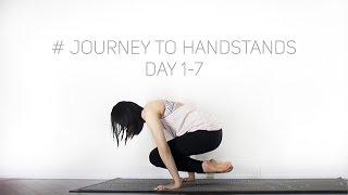 #Journey to Handstands   Day 1-7