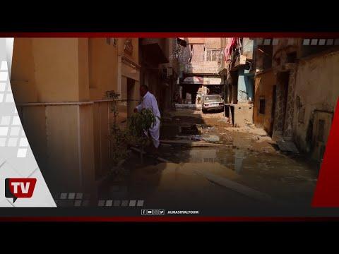 «استغاثة مسنين» من غرق منازلهم في المنصورة: «مش عارفين نخرج»