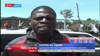 Vijana Nakuru wazua vurugu; Hasira za vijana