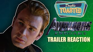 AVENGERS ENDGAME TRAILER REACTION - Double Toasted Reviews