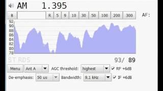 [MW] 1395 kHz - Polskie Radio (rus) - Gavar - Armenia - 1318 km