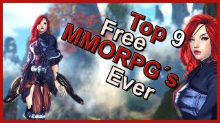 ➤TOP 9 FREE MMORPG´s Ever (2018) [PC/PS4/XBOX One]