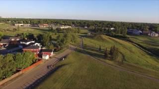 First Flight - Sunset in Regina, SK