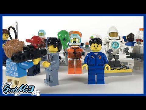 Vidéo LEGO City 60230 : Ensemble de figurines : la recherche et le développement spatiaux