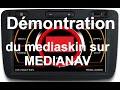 Medianav Renault Dacia vidéo player , map , crack gps , skin , présentation