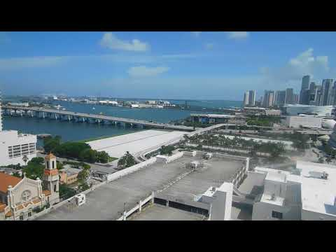 Hilton Miami Downtown video room review
