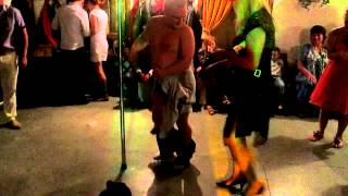 Сексуальный свадьбу стриптиз