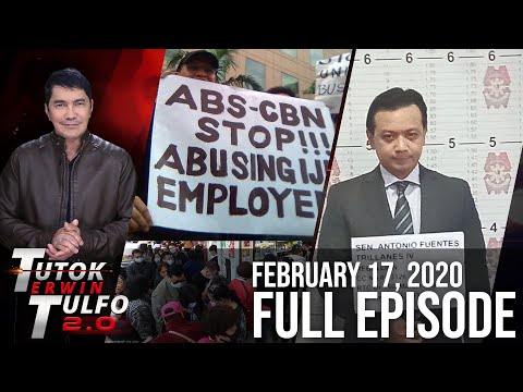 [Erwin Tulfo]  TUTOK TULFO 2.0 – FEBRUARY 17, 2020 FULL EPISODE