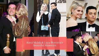 Rami Malek And Lucy Boynton's Most Cutest Moments