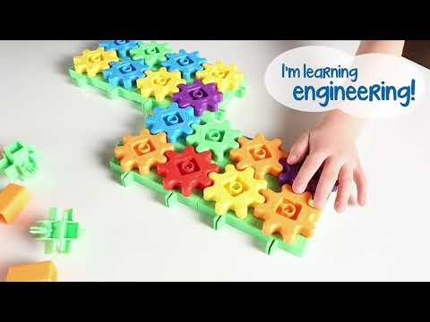 Youtube Video for Gears Deluxe Building Set - 100 Pieces