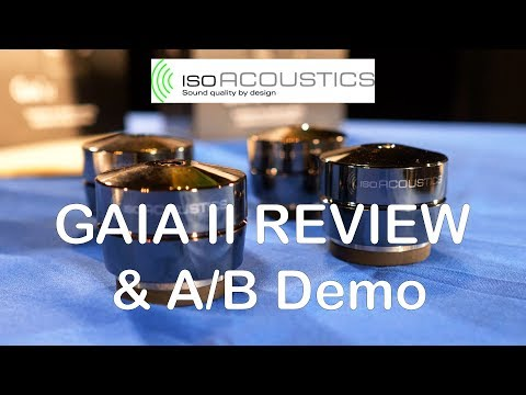 IsoAcoustics GAIA II Review & A/B Demonstration – Awesome HiFi Speaker Isolators