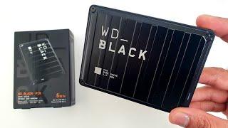 WD BLACK P10 Game Drive Unboxing, Leistungstest und Überprüfung