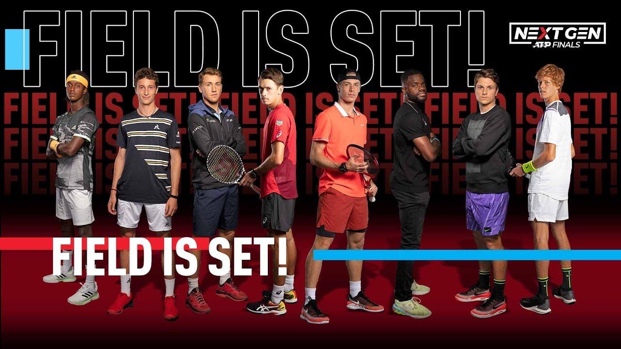 Названы имена участников Итогового турнира Next Gen ATP Finals