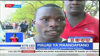 Kijana mmoja wa kidato cha nne auwawa kwa maandamano Kisumu