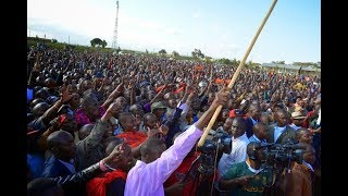 Raila Odinga leads NASA leaders as the step up their campaigns in Narok County