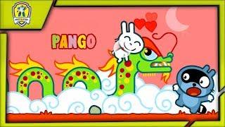 Панго Время Историй Кролик против Китайского Дракона приключени Енотика Pango