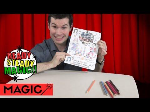 Colouring In Magic |  Ready Steady Magic
