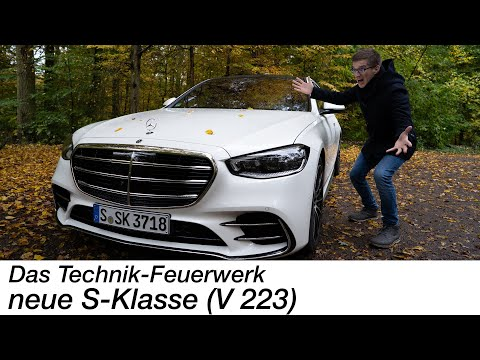 2021 Mercedes-Benz S500 4MATIC (V 223) Test: das absolute TECHNIK Feuerwerk [4K] - Autophorie