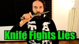 Knife Fights - BE AWARE OF LIES - dooclip.me