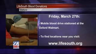 LifeSouth Blood Donations in Oxford