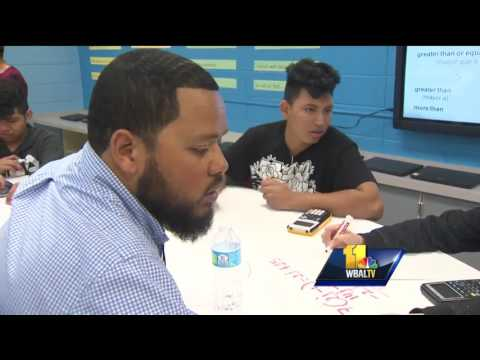 Video: High-tech classroom helps English as a second language learners