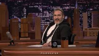Joaquin Phoenix being extra af for 10 minutes straight