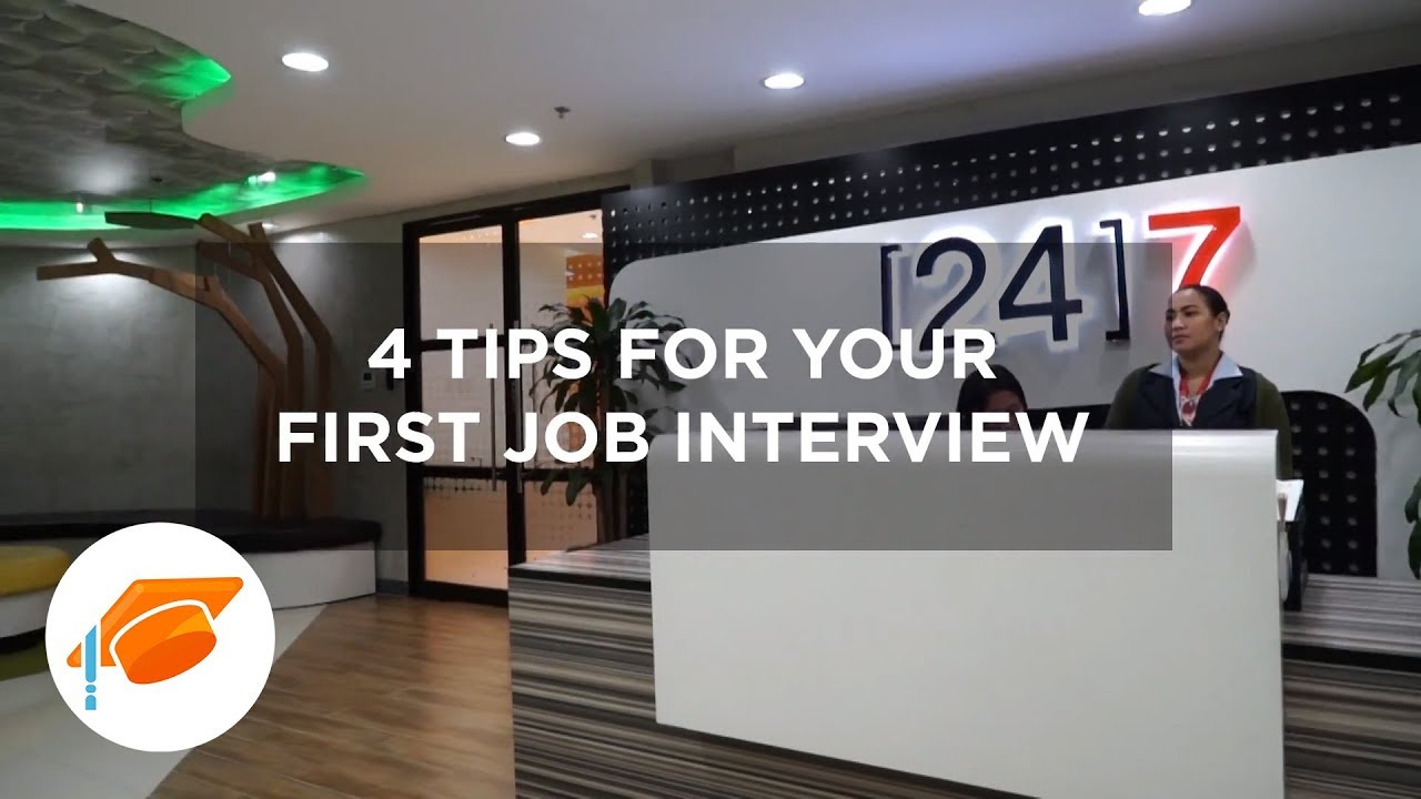 4 Tips For Your First Job Interview