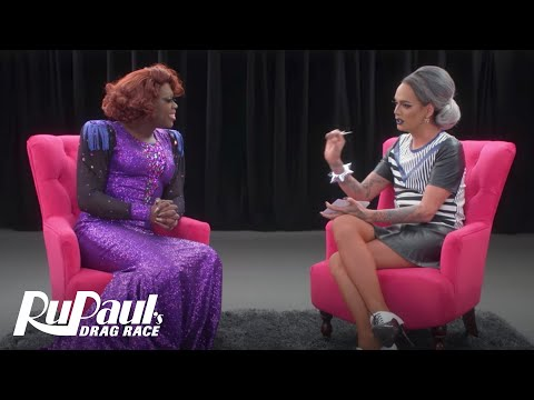 The Pit Stop w/ Raja & Bob the Drag Queen   RuPaul's Drag Race (Season 9 Ep 8)   Now on VH1