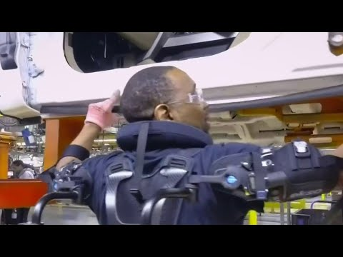 President Joe Biden visits Ford electric vehicle facility in Dearborn