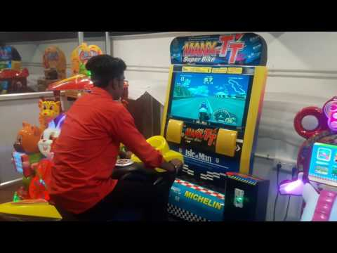 Bike Racing Arcade Game Machine - Man X TT Single Player 32