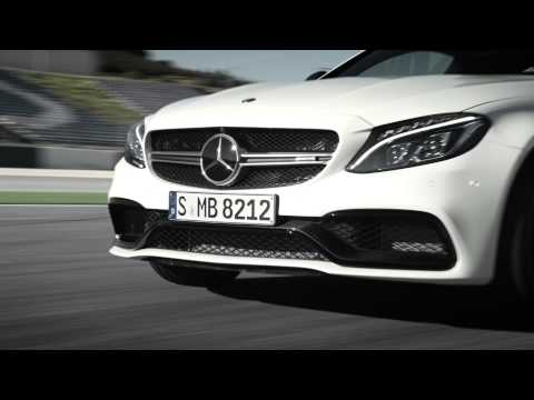 Mercedes-AMG C 63 Coupe on track in teaser video