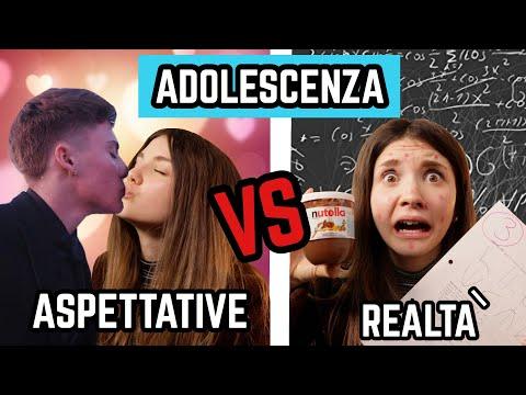 ADOLESCENZA: ASPETTATIVE VS REALTÀ *divertente* ♕