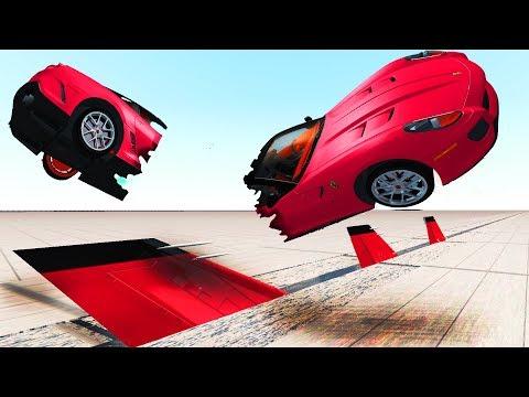 BeamNG Drive - CUT the Car #2 (Cars cutting crashes)