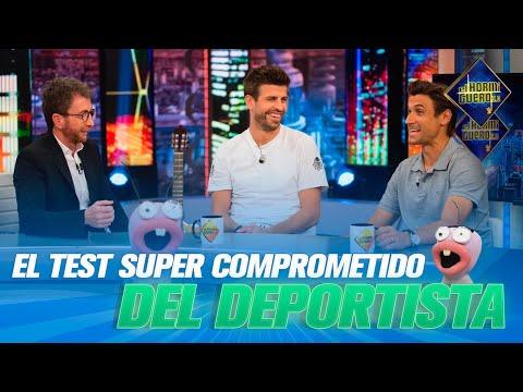 Gerard Piqué a David Ferrer odpovídají na kompromitující otázky ze sportu