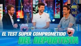 Gerard Piqué y David Ferrer contestan a las preguntas más comprometidas del deporte - El Hormiguero