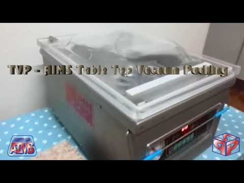 Table Vacuum Packager