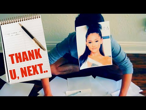 How Ariana Grande Writes Her Songs..