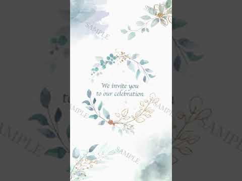 結婚式告知動画を制作します 式の前から親しい友人・知人を楽しませる動画はいかがですか? イメージ1