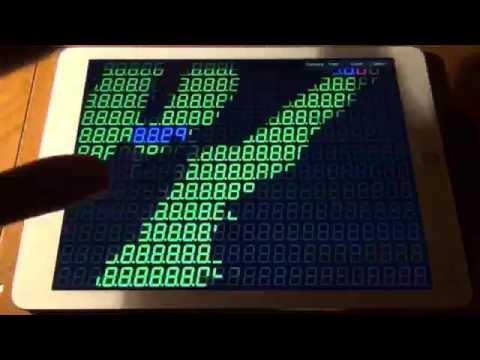 Video of 2304 Seg Display