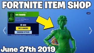 *NEW* TOY TROOPER SKIN! - Item Shop June 26th  (Fortnite Battle Royale Livestream)