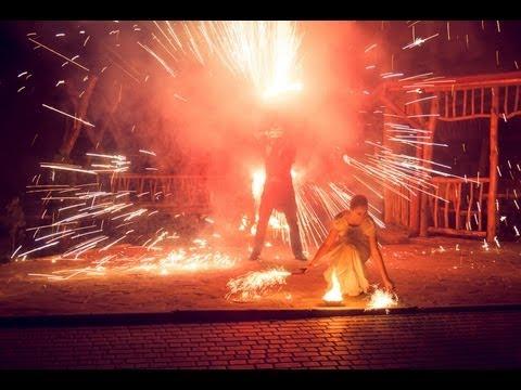 """Вогняне шоу """"DynamicART"""", відео 3"""