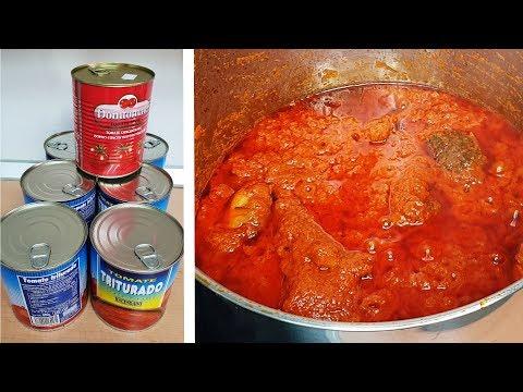 Tin Tomatoes Tomato Stew   All Nigerian Recipes