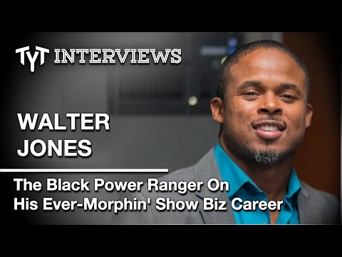 Walter Jones: The Man Behind The Black Power Ranger (Interview w/ Cenk Uygur)