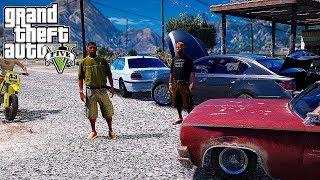 Реальная Жизнь в GTA 5 - АВАРИЯ НА BMW 750Li !!! ЗАВЯЗАЛАСЬ ЖЕСТКАЯ ДРАКА ...