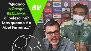 Mauro Beting desabafa e defende Abel Ferreira após críticas à imprensa