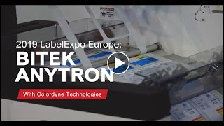 Colordyne and Bitek at Labelexpo 2019