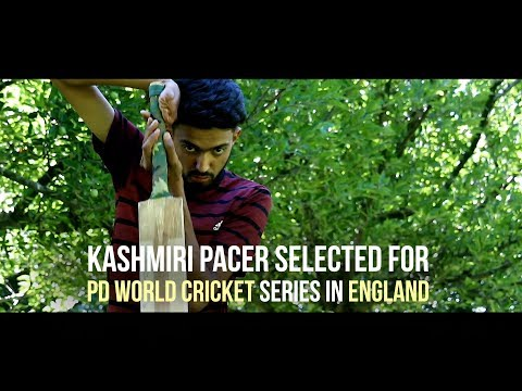 Kashmiri pacer selected for PD World Cricket Series in England
